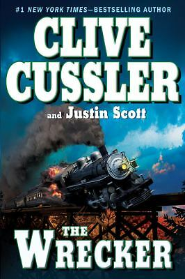 The Wrecker by Clive Cussler and Justin Scott (Hardcover 2009)