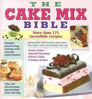 Cake Mix Bible Cookbook by