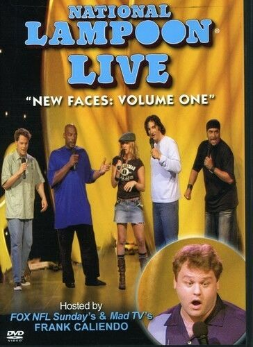 National Lampoon Live - New Faces (DVD, 2004)