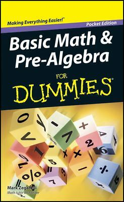 Basic Math & Pre-Algebra for Dummies by