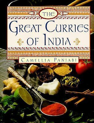 The Great Curries of India by Panjabi, Camellia
