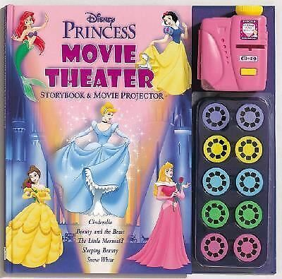 Disney Princess Storybook and Movie Projector by Balducci, Rita