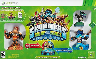 Skylanders Swap Force: Starter Pack + 2 Additional Characters  (Xbox 360)
