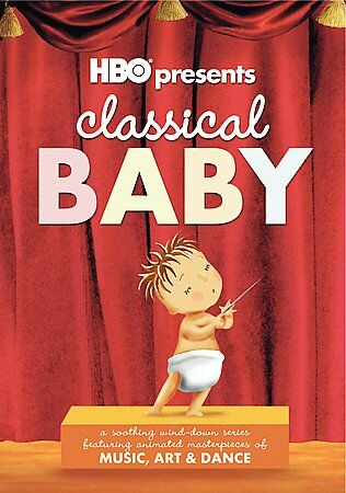 HBO's Classical Baby - 3 Pack (DVD, 2005) children's dvd.