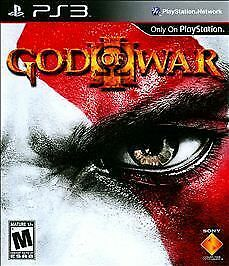 God of War III (Sony PlayStation 3, 2010) Ps2 Ps3 RPG Game PLAYED TWICE