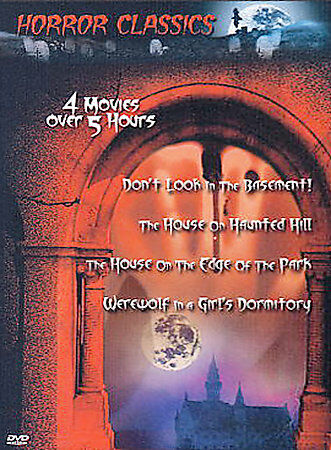 Great Horror Classics - Vol. 8 (DVD, 2003)