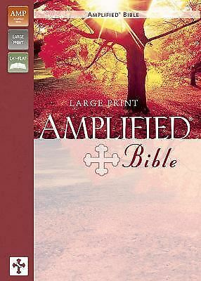 Amplified Bible, Large Print by Zondervan