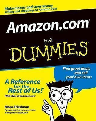 Amazon.com For Dummies (For Dummies (Computers)) by Friedman, Mara