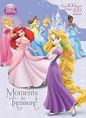 Moments to Treasure Disney Princess) Super Jumbo Coloring Book)
