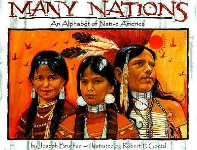 Many Nations by Joseph Bruchac + Native Americans by Alexandra Parsons~ Lot of 2