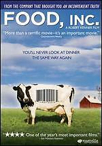 Food, Inc. (DVD, 2009) *SEALED* Brand New