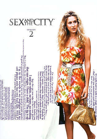 Sex and the City: The Complete Second Season (DVD, 2010, 3-Disc Set)
