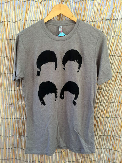 Beatles Triblend T-shirt Unisex Gray