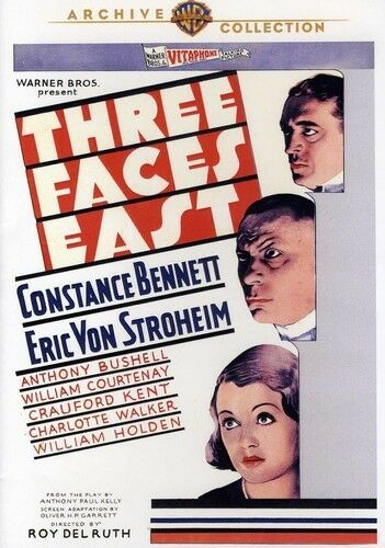 BRAND NEW THREE FACES EAST DVD FREE SHIPPING!!! ��!!!