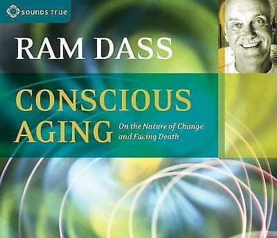 RAM DASS-CONSCIOUS AGING-On the Nature of Change and Facing Death 2 CD Audiobook