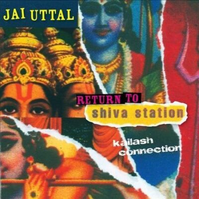 JAI UTTAL - RETURN TO shiva station -kailash connection CD Audiobook FREE SHIPn
