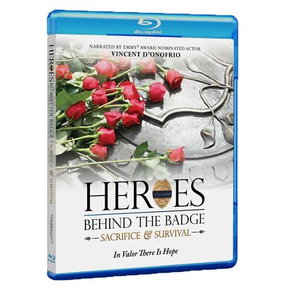 NEW! 'Heroes Behind The Badge: Sacrifice & Survival' Documentary - Blu-ray