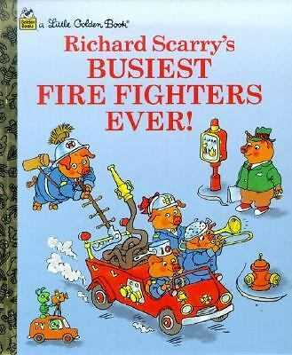 Richard Scarry's Busiest Firefighters Ever (Little Golden Books) by Scarry, Ric