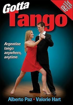 NEW Gotta Tango by Alberto Paz and Valorie Hart (Book/DVD) Argentine Tango