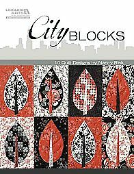 City Blocks: 10 Quilt Designs  Nancy Rink   *Michael J Fox Foundation*