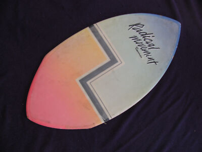 "Radical Movement Vintage Skimboard - 45"" x 22.5"" May Need XO To Activate EcoMagi"