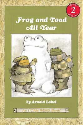 Frog and Toad All Year (I Can Read Book 2) by Arnold Lobel