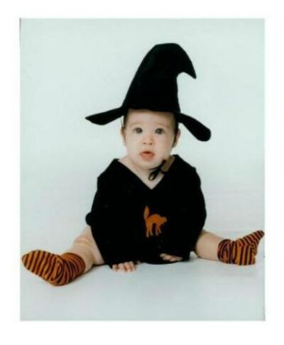 SPOOKEY LIL WITCH Infant Costume - Size 0-6 Mo - NEW
