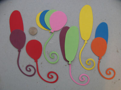 Stampin' Up & Sizzix  BOLD/ BRIGHTS Balloon Die Cuts