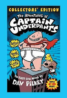 The Adventures of Captain Underpants (Collectors' Edition with Bonus CD Include