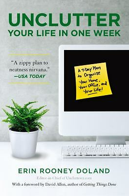 NEW - Unclutter Your LIfe in One Week *Free fast shipping*