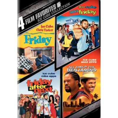 4 Film Favorites: Ice Cube (All About the Benjamins, Friday, Next Friday, Frida