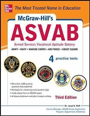 McGraw-Hill's ASVAB, 3rd Edition: Strategies + 4 Practice Tests by Wall, Dr. Ja