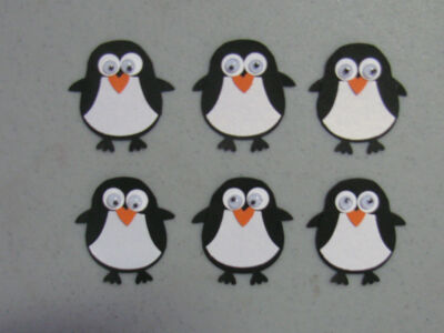 Stampin' Up Penguin Punches Set of 6