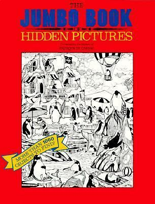 The Jumbo Book of Hidden Pictures by Highlights for Children