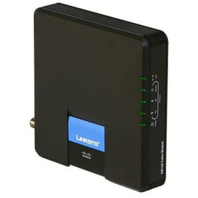Linksys CM100 Modem with USB and Ethernet Connections