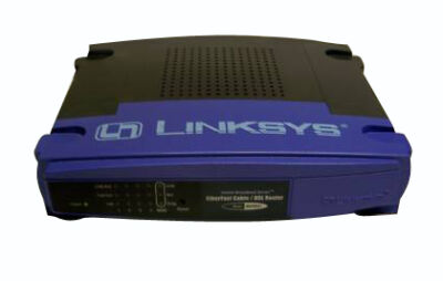 LINKSYS ETHERFAST CABLE/DSL ROUTER w/ 4-PORT SWITCH (BEFSR41)