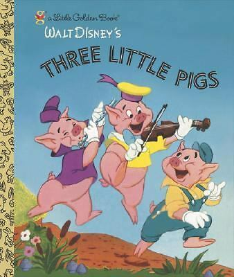 Three Little Pigs (Little Golden Book) by Golden Books