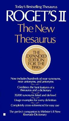 Roget's II: The New Thesaurus by