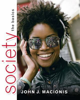 Society : The Basics by Macionis (2010, Paperback)