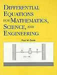 Differential Equations For Mathematics, Science And Engineering by Davis, Paul