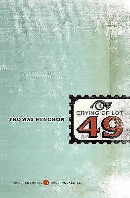 The Crying of Lot 49 (Perennial Fiction Library) by Thomas Pynchon