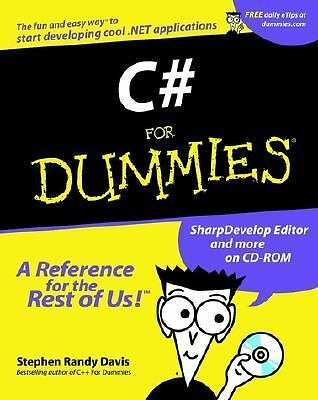 C# For Dummies (For Dummies (Computers)) by Davis, Stephen R.