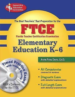 Florida Teacher Certification Examination: Elementary Education K-6 (The Best T