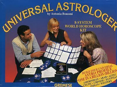Universal Astrologer : 8-System World Horoscope Kit by Antonia Bonomi (1997,...