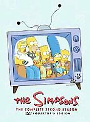 The Simpsons - The Complete Second Season (DVD, 2004, 4-Disc Set)