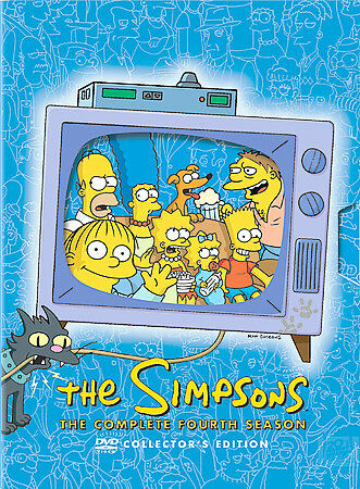 The Simpsons - The Complete Fourth Season (DVD  4-Disc Set)