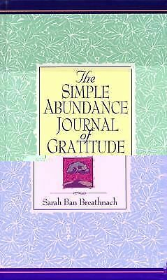 Simple Abundance Journal of Gratitude by Breathnach, Sarah Ban