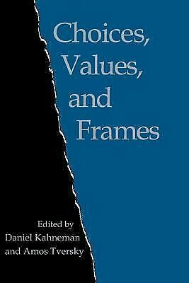Choices, Values, and Frames by