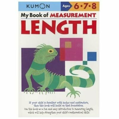 My Book of Measurement: Length (Kumon Math Workbooks) by Kumon Publishing
