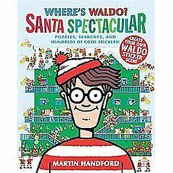 Where's Waldo? Santa Spectacular by Handford, Martin
